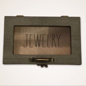 Rae Dunn Wooden Jewelry Box